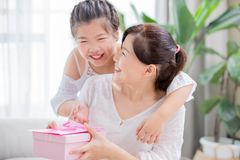 Happy mother day royalty free stock photography