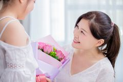 Happy mother day royalty free stock photo