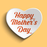 Happy Mother Day Heart Background Royalty Free Stock Images