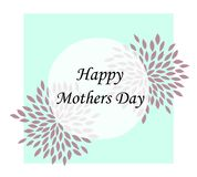 happy mother day, holiday background. can be use for sale advertisement, backdrop. royalty free illustration