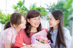 Happy mother day stock photography