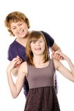 Happy mother and doughter Royalty Free Stock Images
