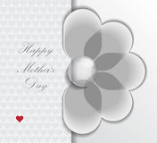 Happy mother flower Royalty Free Stock Image