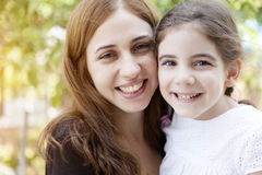 HAppy Mother And Girl Stock Photography