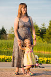 Happy Mother and her Baby Daughter Royalty Free Stock Photo