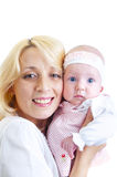 Happy mother and her baby girl Royalty Free Stock Photo