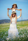 Happy mother with her child Royalty Free Stock Image