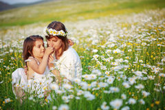Happy mother with her child royalty free stock images