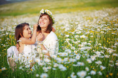 Happy mother with her child Stock Photo