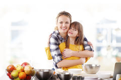 Happy mother and her cute daughter Royalty Free Stock Photo