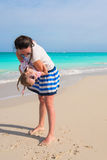 Happy mother and her cute little daughter enjoying summer vacation Royalty Free Stock Photo