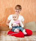 Happy mother with her daughter Royalty Free Stock Images