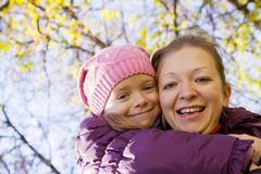 Happy mother with her daughter Royalty Free Stock Photography