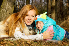 Happy mother with her daughter Stock Photography