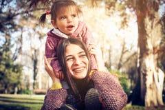 Smiling little girl. stock image