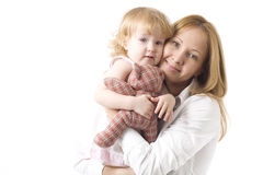 Happy mother with her smiling dauther Royalty Free Stock Photo