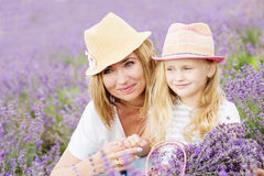 Happy mother with his little daughter Royalty Free Stock Image