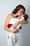 Happy mother with litle baby Royalty Free Stock Photography