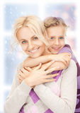 happy mother and little girl Royalty Free Stock Photos