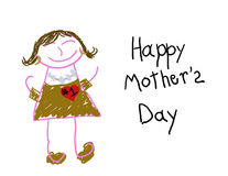 Happy Mother's Day #1 Mom Royalty Free Stock Photos