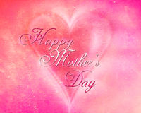 Happy Mother's day. Graphic card for your mom with text Happy Mother's day Stock Illustration