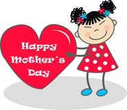 Happy mother´s day royalty free stock photography