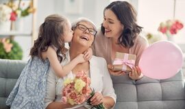 Free Happy Mother`s Day Royalty Free Stock Image - 188956126