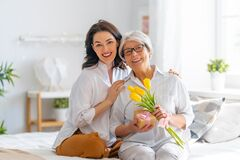 Free Happy Mother`s Day Stock Image - 217249621