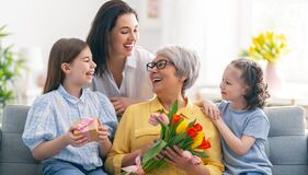 Free Happy Mother`s Day Stock Photography - 217285482