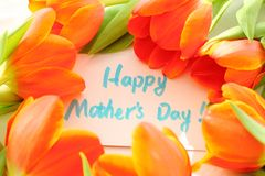 Happy Mother's day. ,Mother's day concept Royalty Free Stock Images