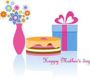 Happy Mother's day. Image  for postcard or calendar Royalty Free Stock Images