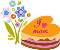 Happy Mother's day. Image for postcard or calendar Royalty Free Stock Photos