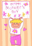 Happy Mothers Day! Stock Photo