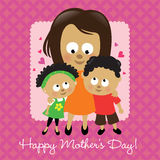 Happy Mother's Day African American Royalty Free Stock Photo