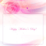 Happy mother's day background Royalty Free Stock Image