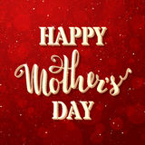 Happy Mother's Day Background. Stock Photo