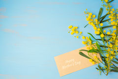 Happy Mother's day background with flowers Royalty Free Stock Images
