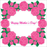 Happy mother's day background stock illustration