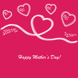 Happy mother's day background Royalty Free Stock Photo