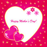 Happy mother's day background Royalty Free Stock Photography