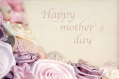 Happy mother`s day Stock Image