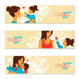 Happy Mother's Day Banners. Vector illustration Stock Photo