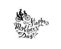 Happy Mother`s day! Bike Stock Images