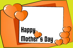 Happy Mother's Day Card Stock Photo