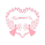 Happy Mother s day card Stock Photos