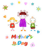 Happy mother`s day Royalty Free Stock Images