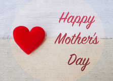 Happy Mother`s day card concept Royalty Free Stock Photo