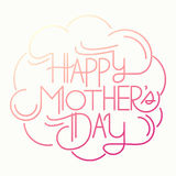 Happy mother's day card Royalty Free Stock Photos