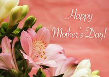 Happy Mother`s Day Royalty Free Stock Photo