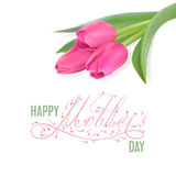 Happy Mother s day card Stock Image